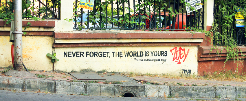 Never Forget, The World Is Yours
