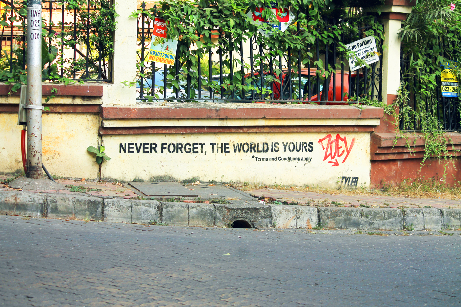 Never Forget The World Is Yours