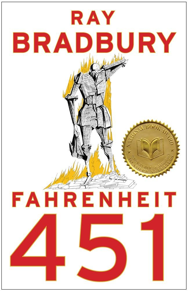 The Banned Books Of Belief-FAHRENHEIT 451 by Ray Bradbury
